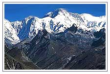 Cho Oyu Mountain Range
